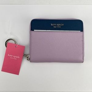KATE SPADE Authentic Lavender Small Wallet